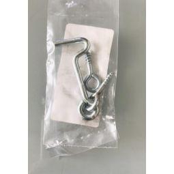 Interrupteur double à encastrer gris anthracite Elix